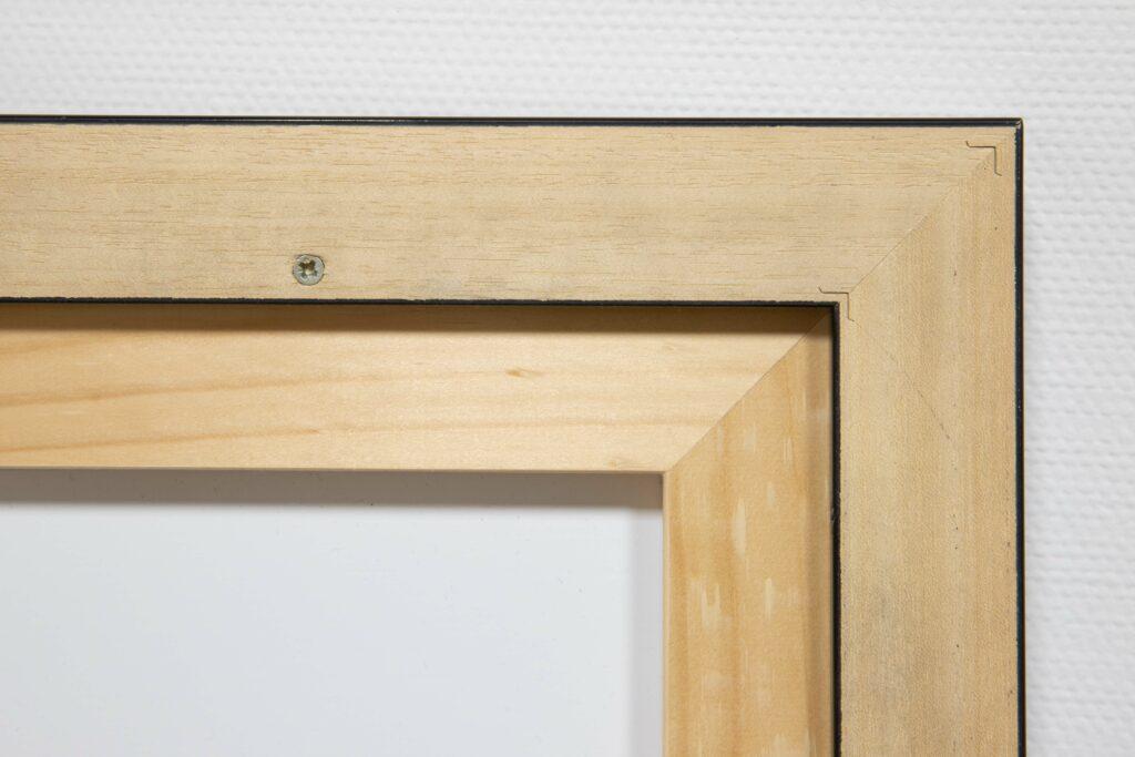 Photo d'encadrement châssis en bois